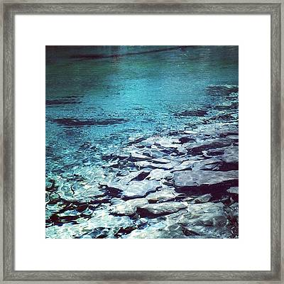 Water Is The Only Drink For A Wise Man Framed Print
