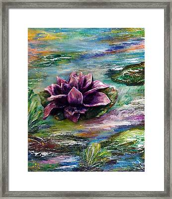 Water Lilies - Two Pieces Framed Print