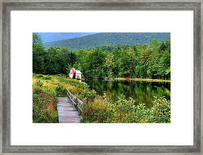 Water Mill II Framed Print