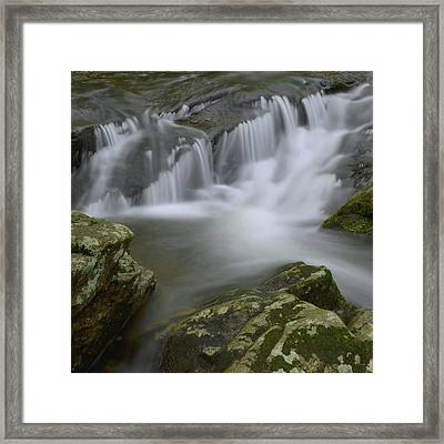 Water Movement 62 Framed Print