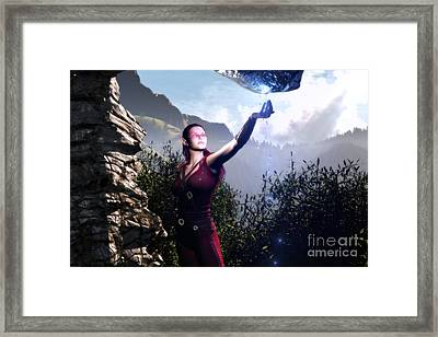 Water Of The Life Framed Print by Gabor Gabriel Magyar - Forgottenangel