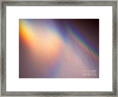 Water Rainbow Framed Print by Phyllis Kaltenbach