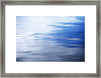 Calm Water Framed Print by Skip Nall