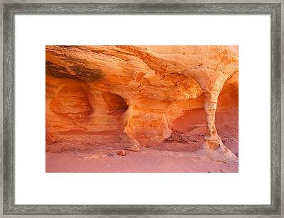 Water Sculpture Framed Print