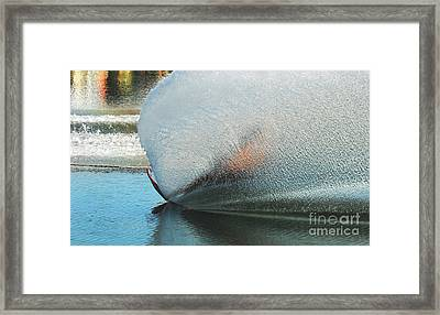 Water Skiing Magic Of Water 18 Framed Print by Bob Christopher