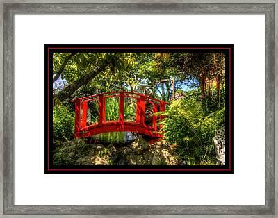 Water Under The Bridge Framed Print by Matthew Green