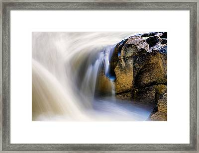 Water Ways Framed Print