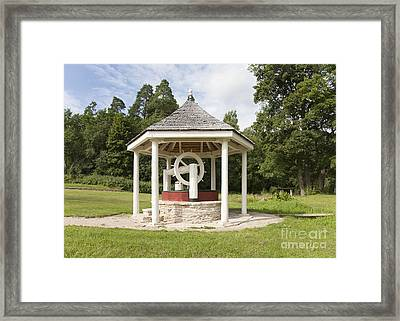 Water Well Under A Dome Framed Print