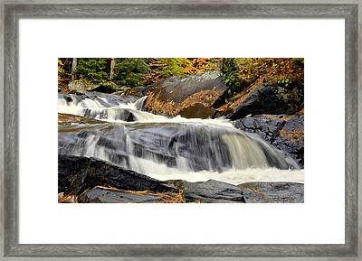 Waterfall Framed Print by Douglas Pike