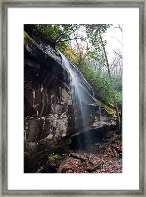 Waterfall Lightly Framed Print