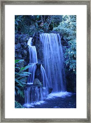 Waterfall Number 1 Framed Print