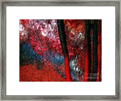Waterfall Of Dreadlocks  Framed Print
