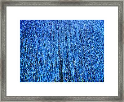 Waterfall Framed Print by Susana Sanchez Giraud