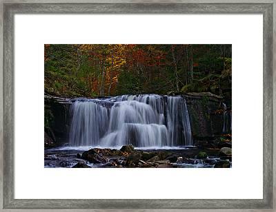Waterfall Svitan Framed Print