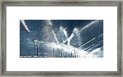 Watering Day Framed Print