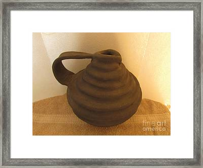 Watering Vase Framed Print by Christina Perry