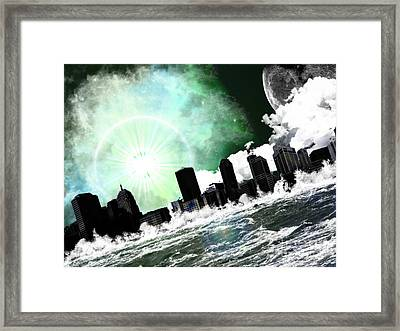 Waterising Framed Print