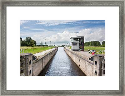 Waterlock Framed Print by Semmick Photo