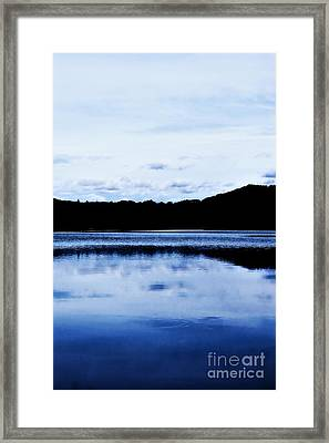 Waterscape Granville Ma Framed Print by HD Connelly