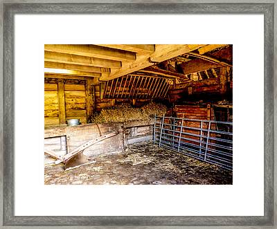 Watersfield Stable Framed Print by Dawn OConnor