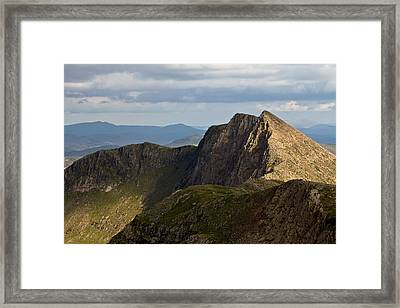 Framed Print featuring the photograph Watkin Path by Justin Albrecht