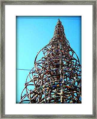 Watts Up Framed Print by D Wash