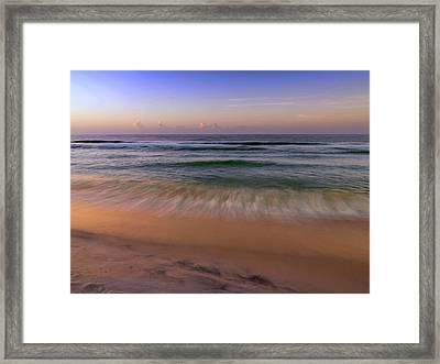 Wave Framed Print by Al Hurley