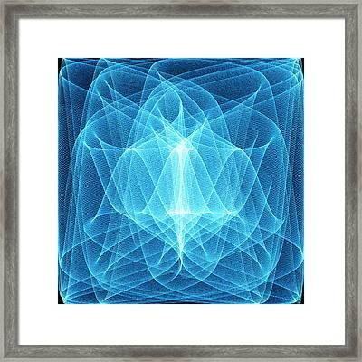 Wave Patterns Framed Print by Pasieka
