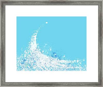 Wave Framed Print by Setsiri Silapasuwanchai