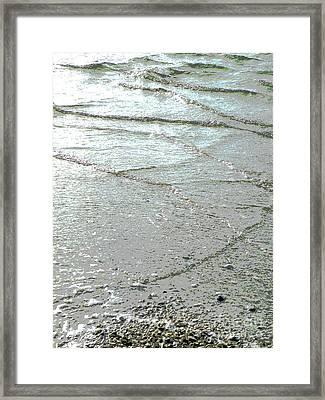 Wave Weaving Framed Print by Joe Jake Pratt
