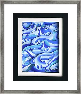 Waves 2 Framed Print by Jason Amatangelo