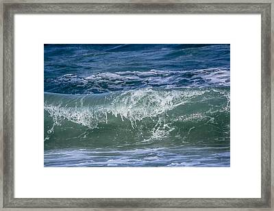 Waves Framed Print by Andrea  OConnell