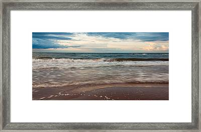 Waves Framed Print by Matt Dobson