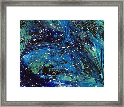 Waves Of Emotion Framed Print by Bethany Stanko