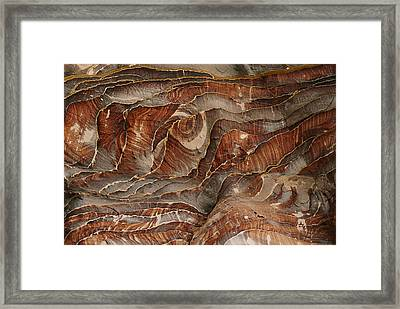 Waves Of Natural Color, Ranging Framed Print by Annie Griffiths