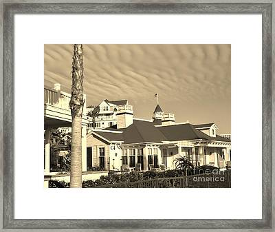 Framed Print featuring the photograph Wavy Sky by Jasna Gopic