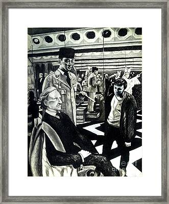 Wax Museum Framed Print