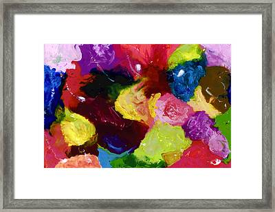 Wax Rainbow On Canvax Two K O One Framed Print by Carl Deaville