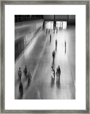 Way Out Framed Print by David Turner