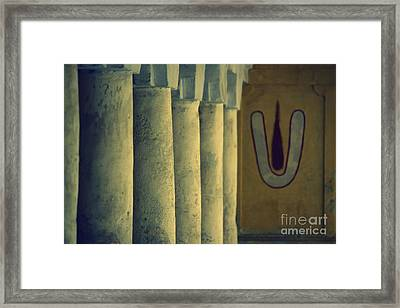 Way To God Framed Print by Vishakha Bhagat