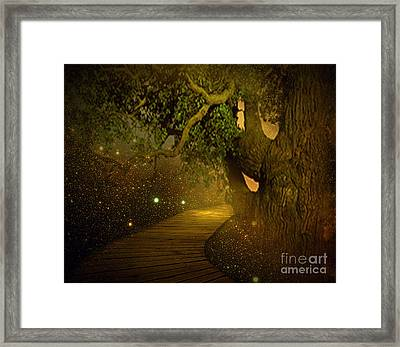 Way To Heaven Framed Print by Ester  Rogers