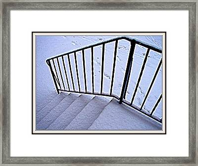 Way To Where-1 Framed Print by Anand Swaroop Manchiraju