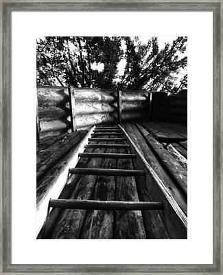 Way Up Framed Print
