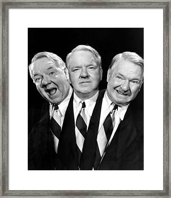 W.c. Fields, Paramount Pictures, 1938 Framed Print by Everett
