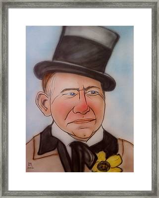 W.c. Fields Framed Print by Pete Maier