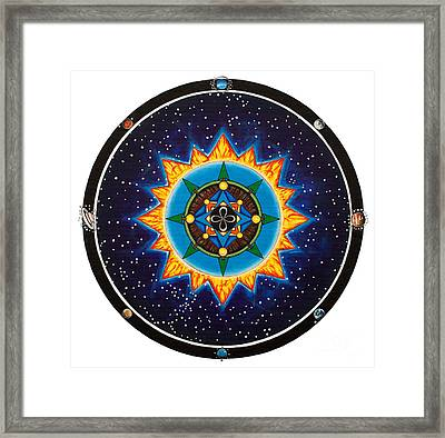 We Are All Connected Framed Print by MaryB  Wenzel