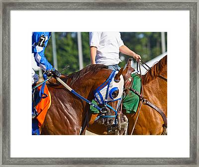 We Are Going To Win Framed Print by Betsy Knapp