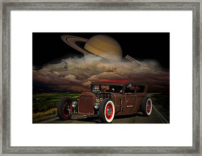 We Are Not In Kansas Anymore Framed Print by Tim McCullough