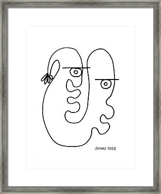 We Are One Framed Print by Suhas Tavkar