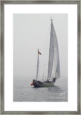 We Are Sailing ... Framed Print by Heiko Koehrer-Wagner
